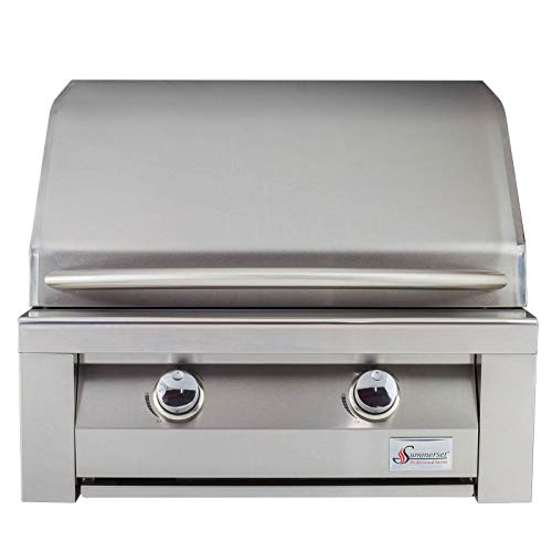 Summerset Builder Stainless Steel 30 Inch 52,000 BTU Natural Gas Built in Grill