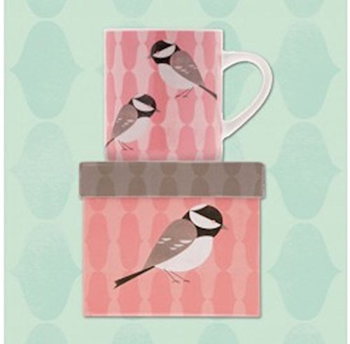 Magpie Chirpy Petite Mug With Gift Box - Coal Tit Coffee Tea (Chirpy Bird)