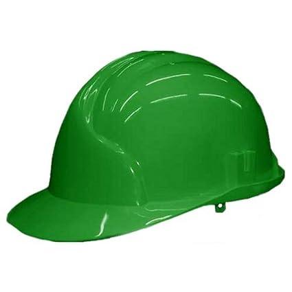 Bauhelm - Casco de obra (conforme con norma EN 397), color verde