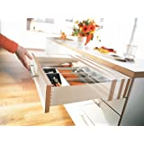 Blum Tandem Premium Undermount Slides With Integrated Soft Close Full Extension For 18 Drawers 110# Class - 1 set for 1 drawer by Blum