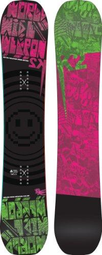 K2 WWW Rocker Snowboard 142 2012 K2 Twin Tip Snowboard