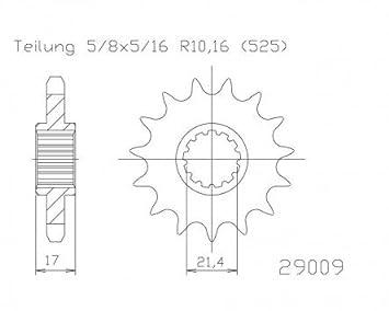 Nadellager 12x16x13mm f/ür CPI Aragon 50 TYP:JR45