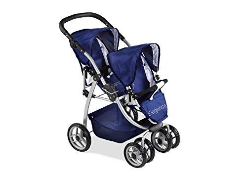 Arias 73 x 47 x 80 cm Elegance Doll Twin Chair Stroller ()