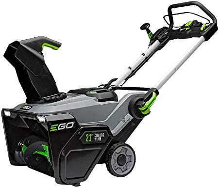EGO Power SNT2103 21-Inch 56-Volt Cordless Snow Blower with Peak Power Two 7.5Ah Batteries and Rapid Charger Included, Black