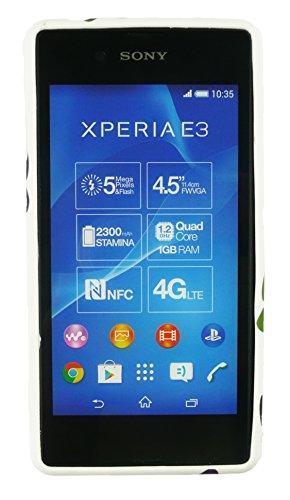 Emartbuy® Sony Xperia E3 / Xperia E3 Dual Sim TPU Gel Funda Carcasa Case Cover Búhos Patas Gel
