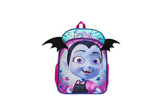 Disney Girls Vampirina Backpack with Bat Ears, Purple, One Size