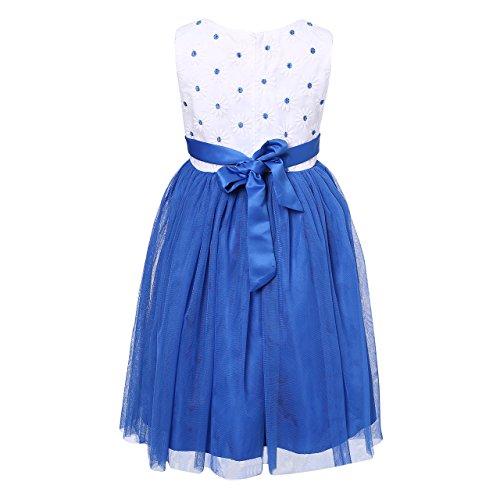 Richie House Little Girls Sweet Party Dress RH2243-C-4/5