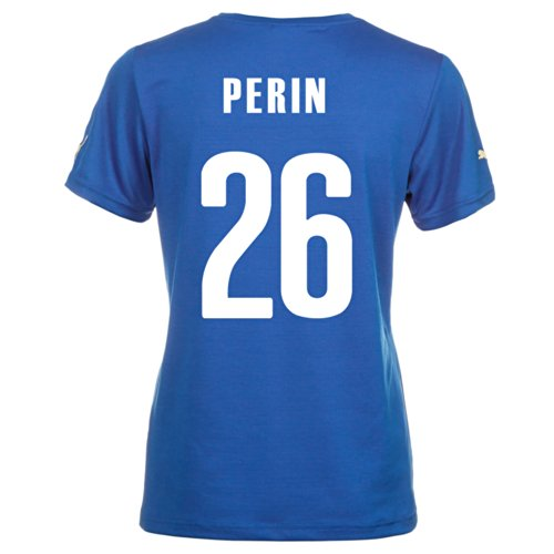 Puma PERIN #26 Italy Home Jersey World Cup 2014