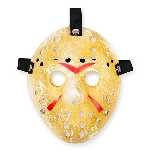 Friday the 13th Scary Costume| Jason Voorhees Mask Classic Version -