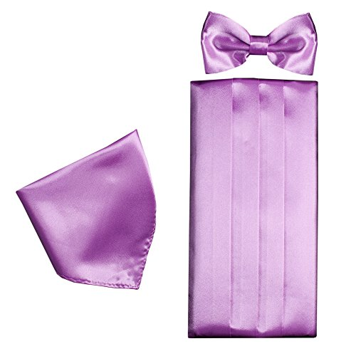 Cummerbund Set Style 22 Tie Bow Set in Colour Pocket Classic Square Formal Gift Multiple Mens Formal amp; Px5qa4qwZ