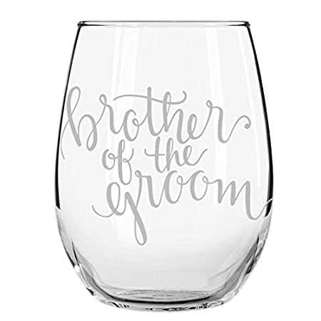 Stemless Wedding Party Wine Glass 15 oz Matron of Honor