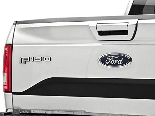 - SpeedForm Chrome Tailgate Handle Cover without Keyhole - for Ford F-150 2015-2017