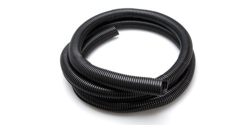 Hosa WHD-410 Black Split-Loom Cable Organizer, 1 inch x 10 feet