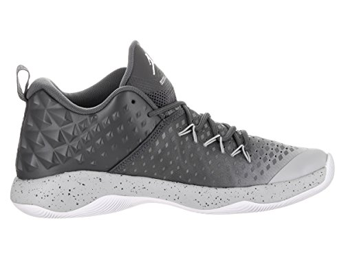 Jordan Nike Mens Extra Fly Basketball Shoe Dark Grey/White-wolf Grey