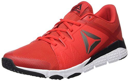 Reebok Herren Trainflex Gymnastikschuhe Rot (Multicolore Primal Red/black/white/pewter)