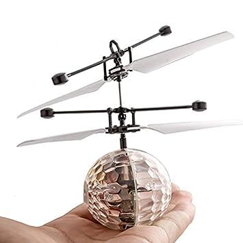 JVSISM Drone de induccion infrarroja fantastica Helicoptero de ...