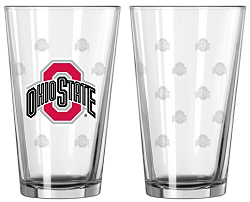 State Beer - Ohio State 2 Pack Pint Glasses