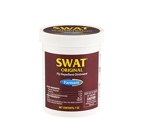 Farnam SWAT Fly Repellent Pink Ointment for Horses, 7 oz. (Repellent Ointment Swat Fly)