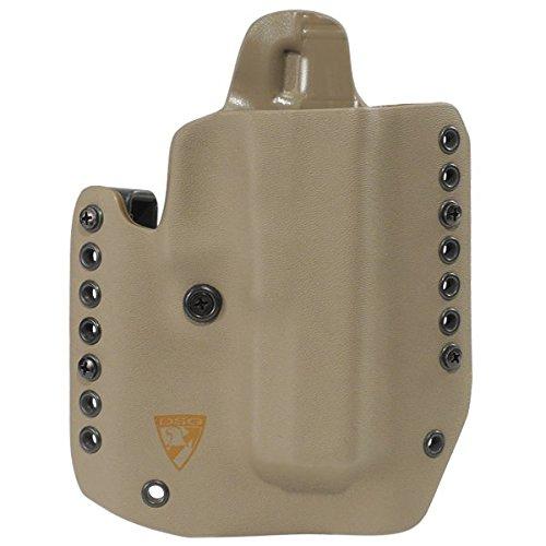 Holster Combat Glock (DSG Arms Alpha Gen3 Holster For Glock (17/22/31 for RH - E2 Tan))