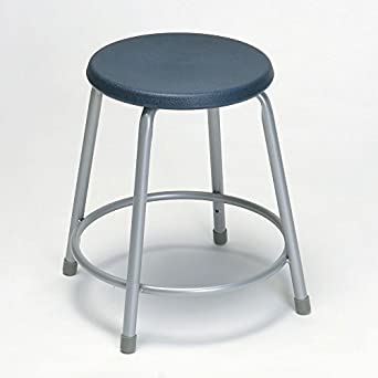 Astounding Amazon Com Laboratory Stool 19 To 27 Navy Blue Ocoug Best Dining Table And Chair Ideas Images Ocougorg