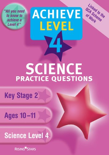 Download Science Level 4 Practice Questions (Achieve) pdf