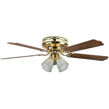 Concord Fans Montego Bay Deluxe Ceiling Fan With 4 Light