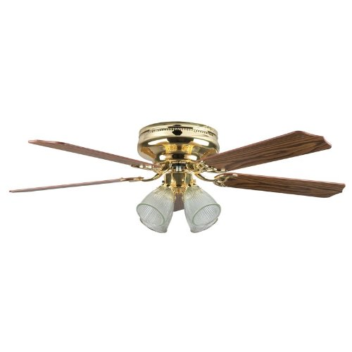 Concord Fans Montego Bay Deluxe Ceiling Fan with 4 Light Kit
