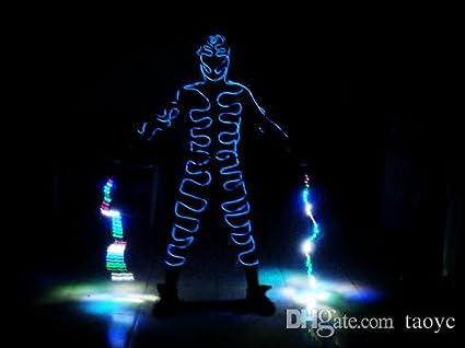 1 Piece of Tron light suits / Luminous costume / Robot suits / El ...