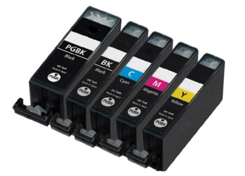 12 NEW Compatible Ink Cartridges Cli-221 Pgi-220 with Chip Included Grey