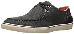 CK Jeans Men's Zolton Denim Fashion Sneaker, Dark Grey, 11 M US