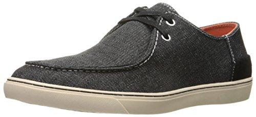 CK Jeans Men's Zolton Denim Fashion Sneaker, Black, 9 M US by Calvin Klein
