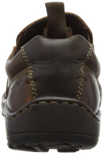 Hush Puppies Belfast Slip On_MT - Zapatos sin cordones de cuero hombre marrón