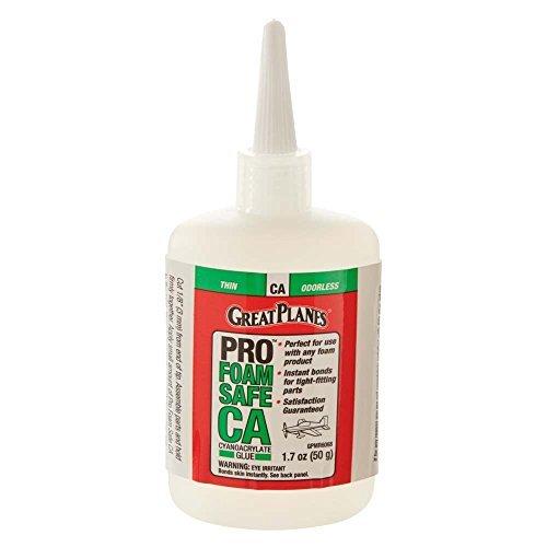 GREAT PLANES Pro Foam Safe CA Thin Glue 50g GPMR6068