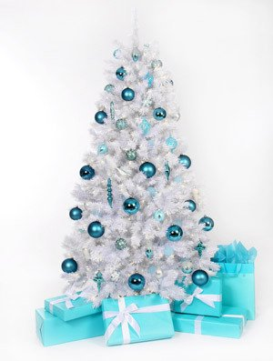 Image result for White christmas tree