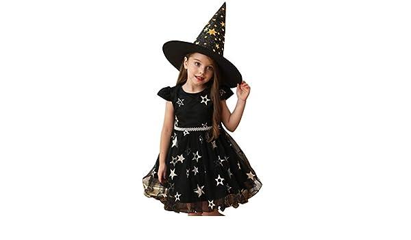 Yinshao Vestido de Calabaza de Halloween de 3 a 18 Meses ...