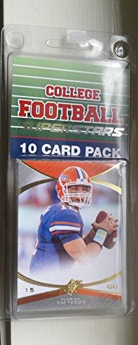 10 card pack college football florida gators different superstars starter kit