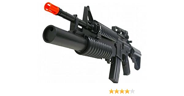 Amazon com : AEG Electric M4 Assault Rifle FPS-300, Two