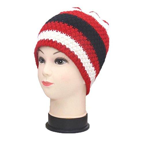 exterior Hairy Sombrero Unidos de Hat ZHAS Europa Estados los y color punto hechizo Gorro de invierno cálido fwnqZ8O