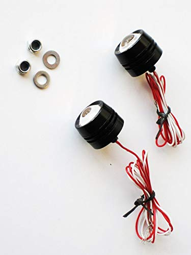 Aluminium Flush Mount Motorbike Projector LED Indicators