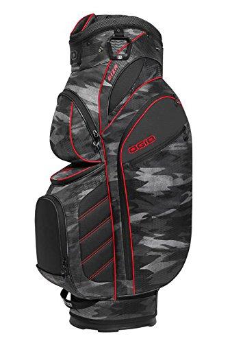 OGIO Stinger Cart Bag, Urban - Urban Red Camo