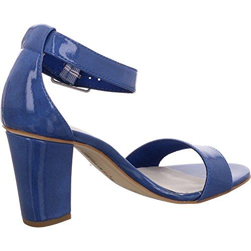 Mujer Sandalias 28376 Tamaris con para Royal Cuña Azul 838 wXawvx4q