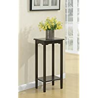 Convenience Concepts American Heritage Plant Stand, 31, Espresso