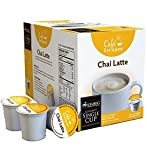 Cafe Escapes Chai Latte K-Cups for Keurig Coffee Machines - 16 Pack