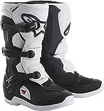 Alpinestars Youth Tech 3S Kids Boots-Black/White-K12