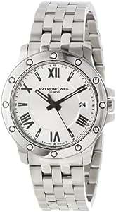 "Raymond Weil Men's 5599-ST-00659 ""Tango"" Stainless Steel Dress Watch"