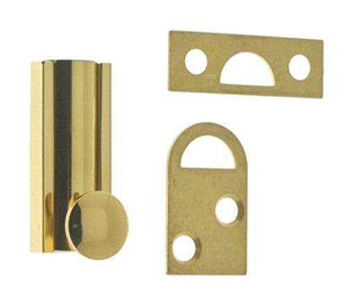 Polished Brass Slide Bolt - 7