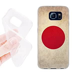 Joe A. Esquivel's Shop 6446416M55970069 Head Case Designs Japan Japanese Vintage Flags Soft Gel Back Case Cover for Samsung Galaxy S6 G920, Galaxy S6 Duos