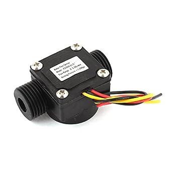 0.5-30L / G1 min 1,2 MPa / 2 Rosca de agua líquida Velocidad de flujo sensor de caudal: Amazon.es: Industria, empresas y ciencia
