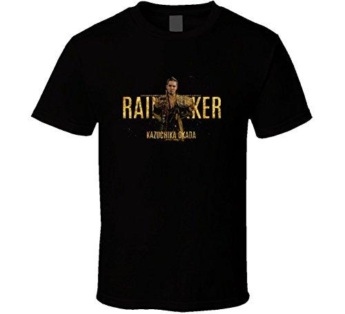 Kazuchika Okada Rain Maker T Shirt XL Black