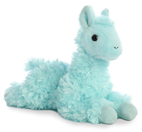 Aurora World 8 #34; Mini Flopsie Plush Toy, Llama  Teal